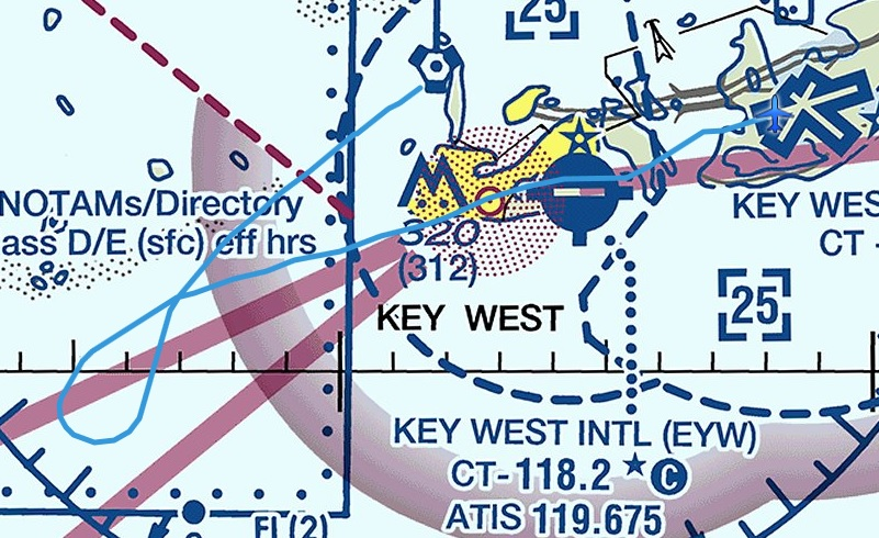 Key West GPS DG stuck
