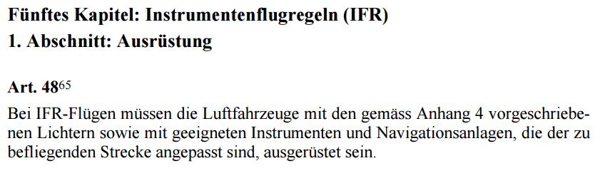 Luftrecht Schweiz IFR Equipment.png
