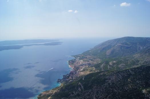 Bol, Croatia on Brac Island