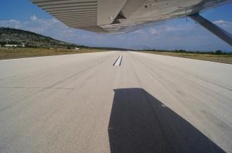 Landing on Brač Island