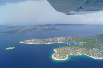 Croatian islands by general aviation