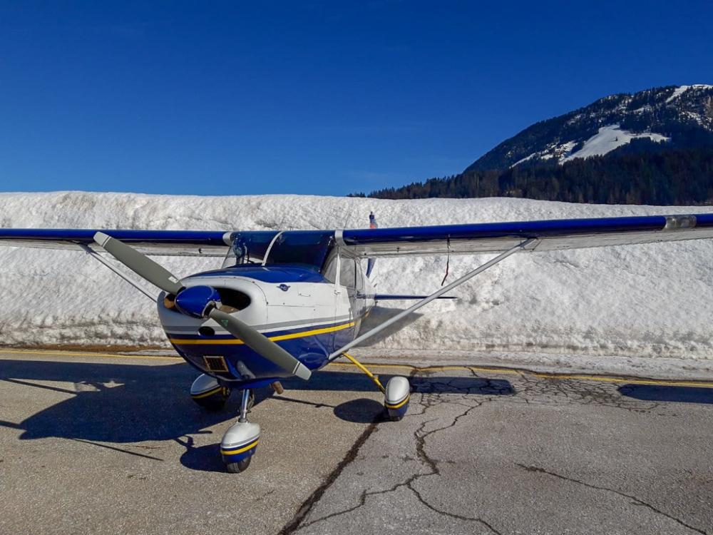 Cessna 175 Skylark Franklin St Johann LOIJ Enroute IFR EIR Basic IR BIR myclimbrate